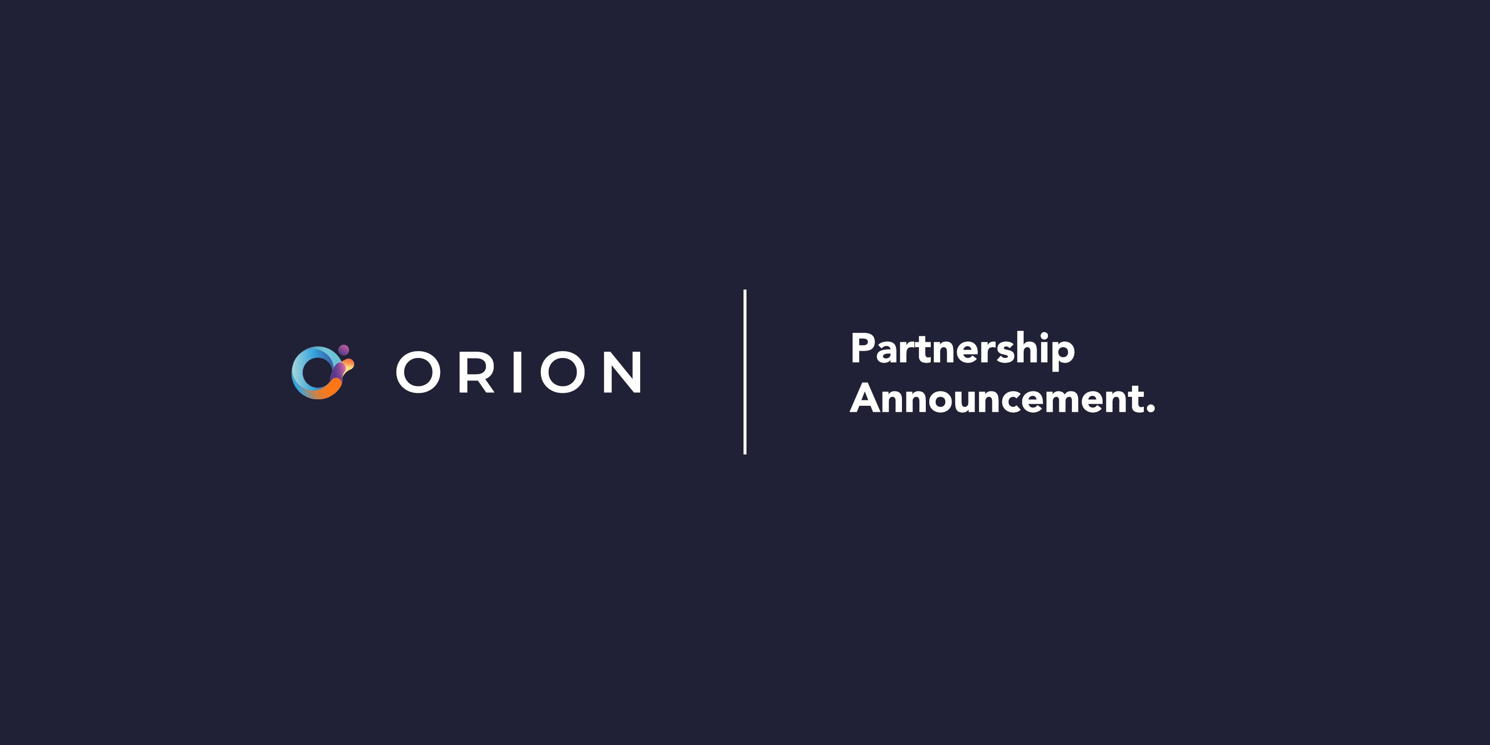 Orion Partners with Holochain