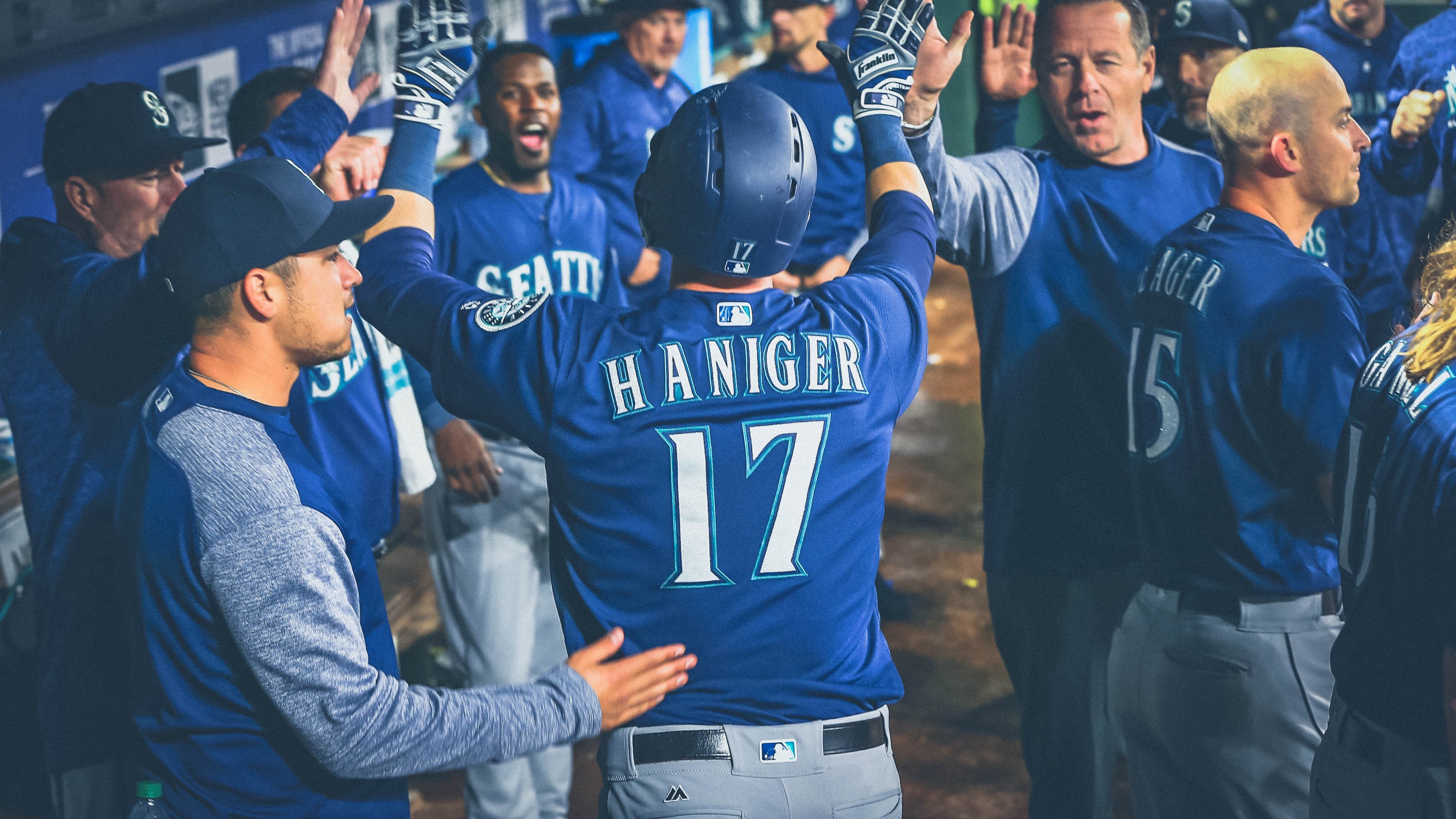 sports shoes d4aeb 07a99 Mitch Haniger just continues to impress, but not just on the ...
