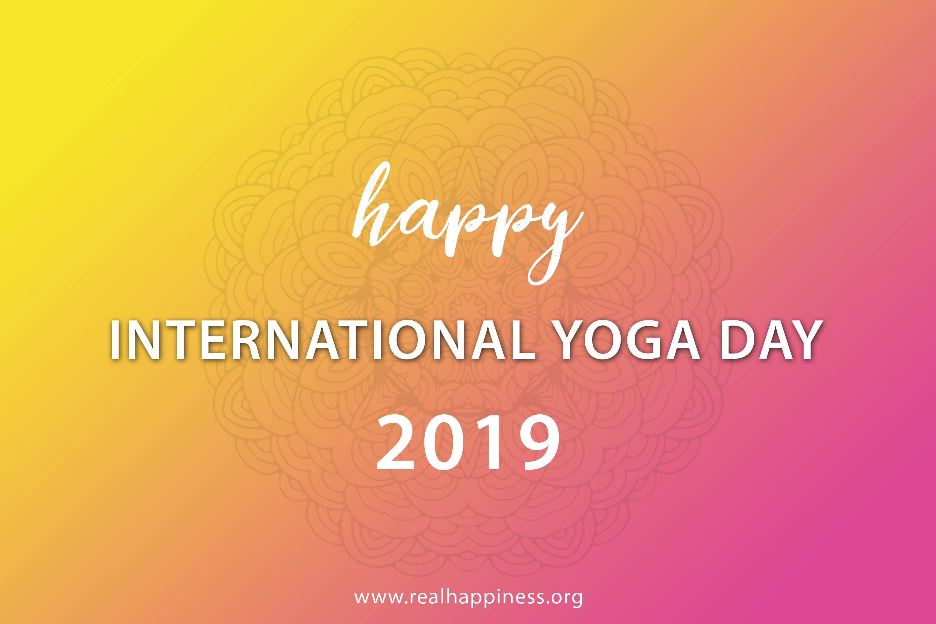 Meditation In India Today On Happy International Yoga Day By Real Happiness Medium