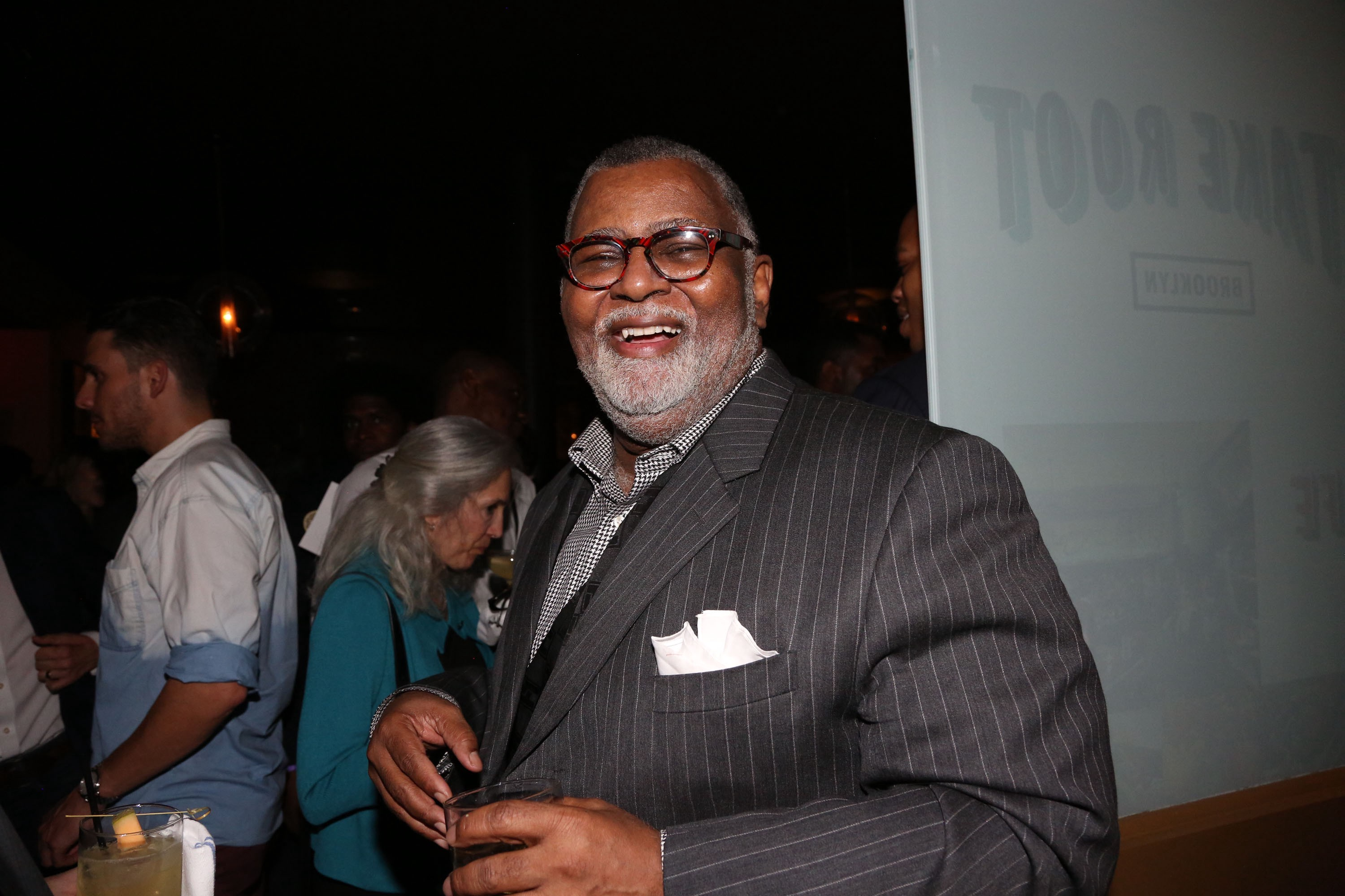 Alexander Smalls smiles for the camera at an event.