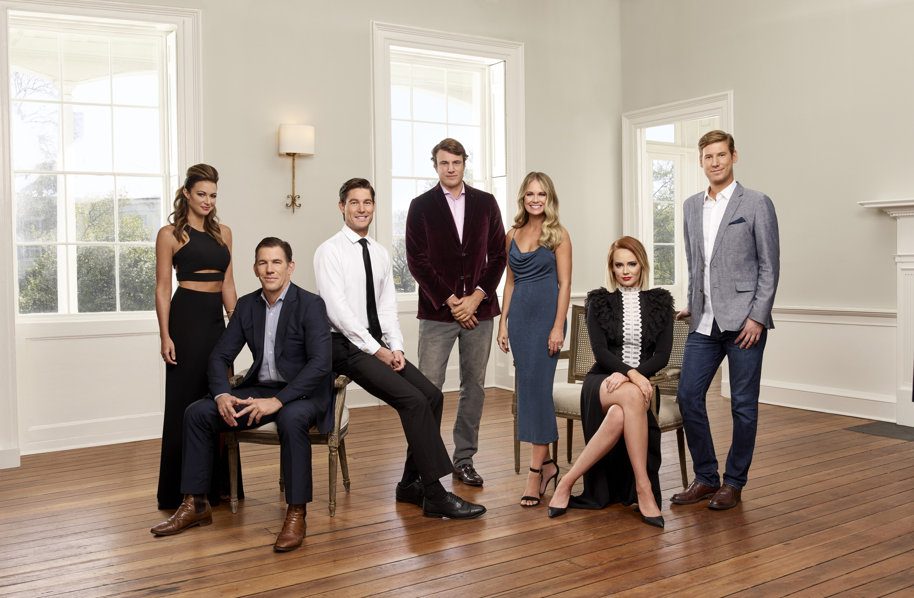 A photo of the cast of Southern Charm's Season 5