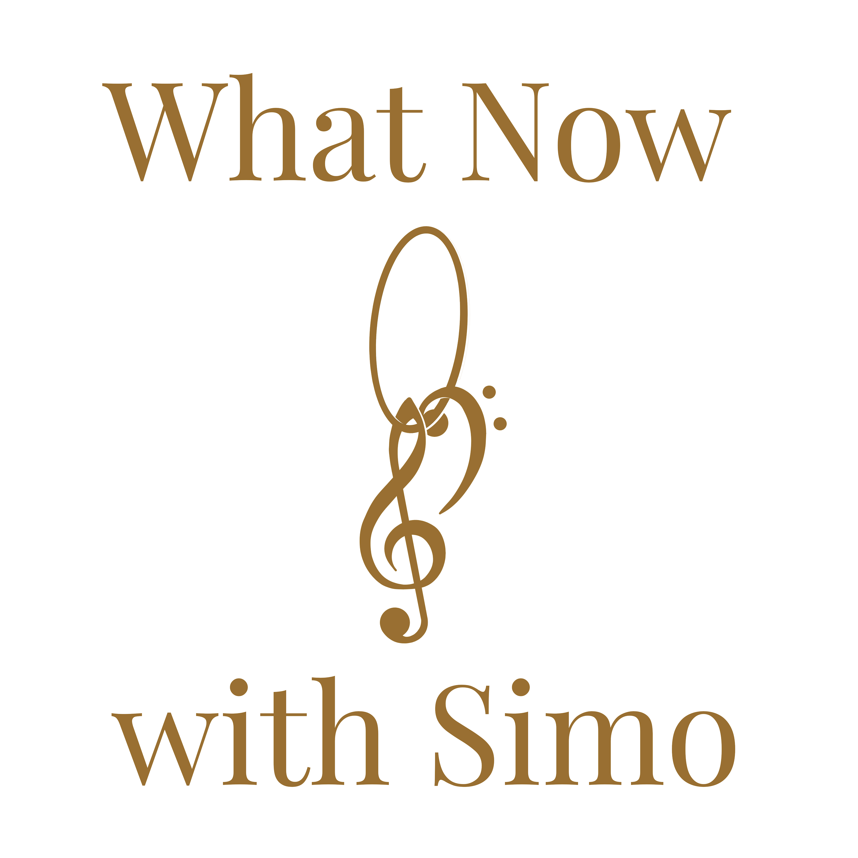 Cover art for the podcast What Now with Simo.