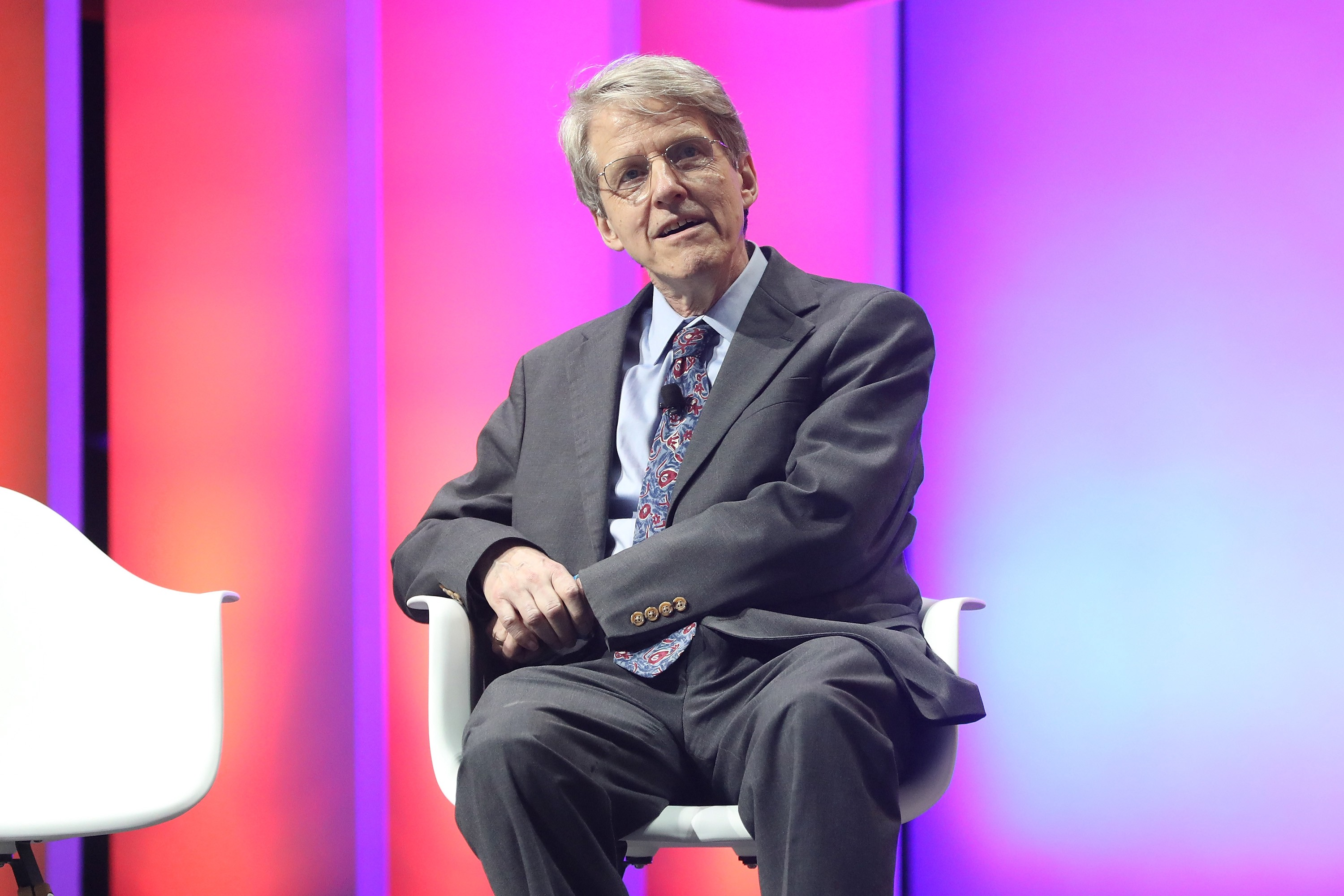 Robert Shiller attends the 2019 Forbes 30 Under 30 Summit on October 29, 2019 in Detroit, Michigan.