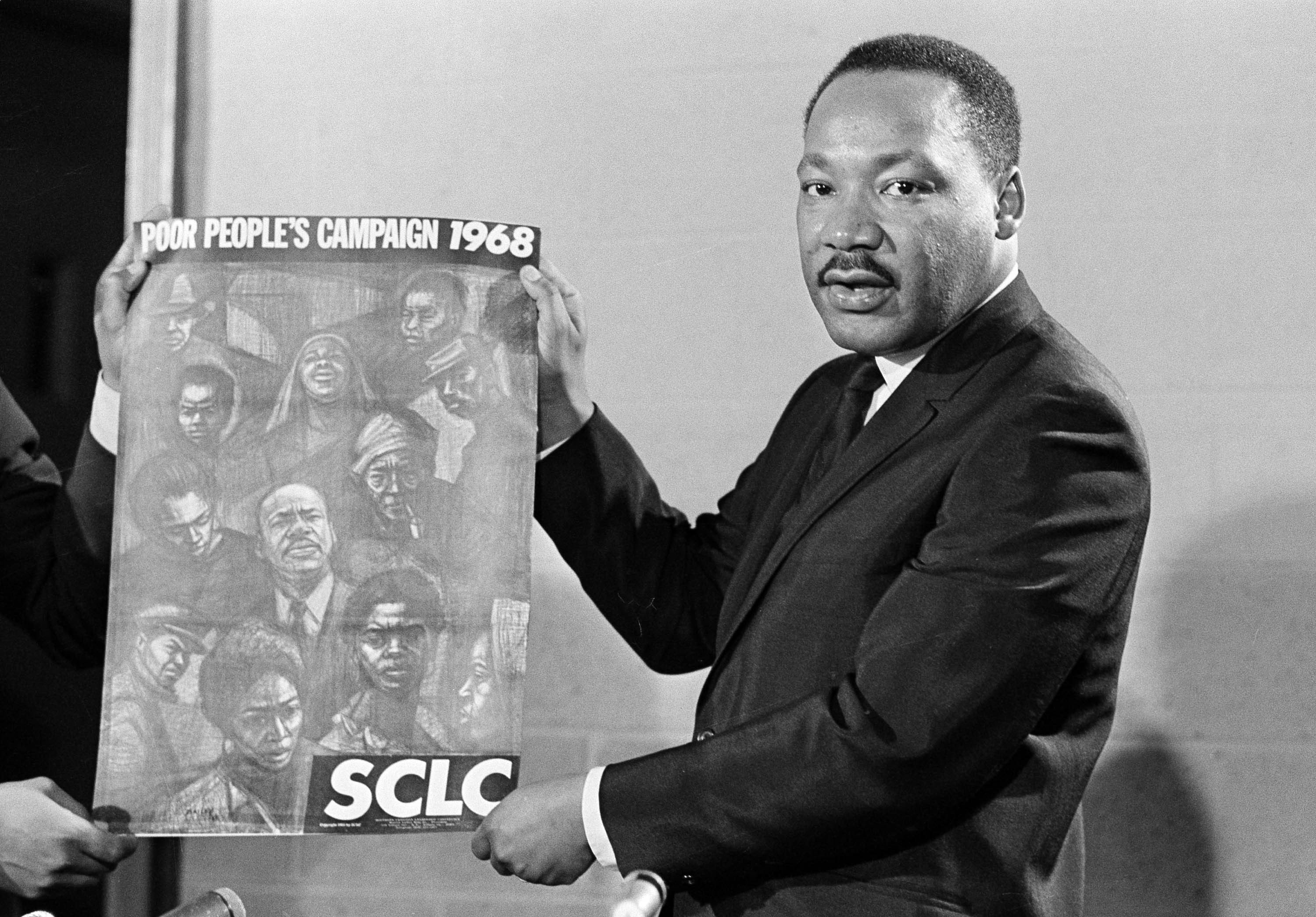 As One Of His Final Acts Martin Luther King Fought For A