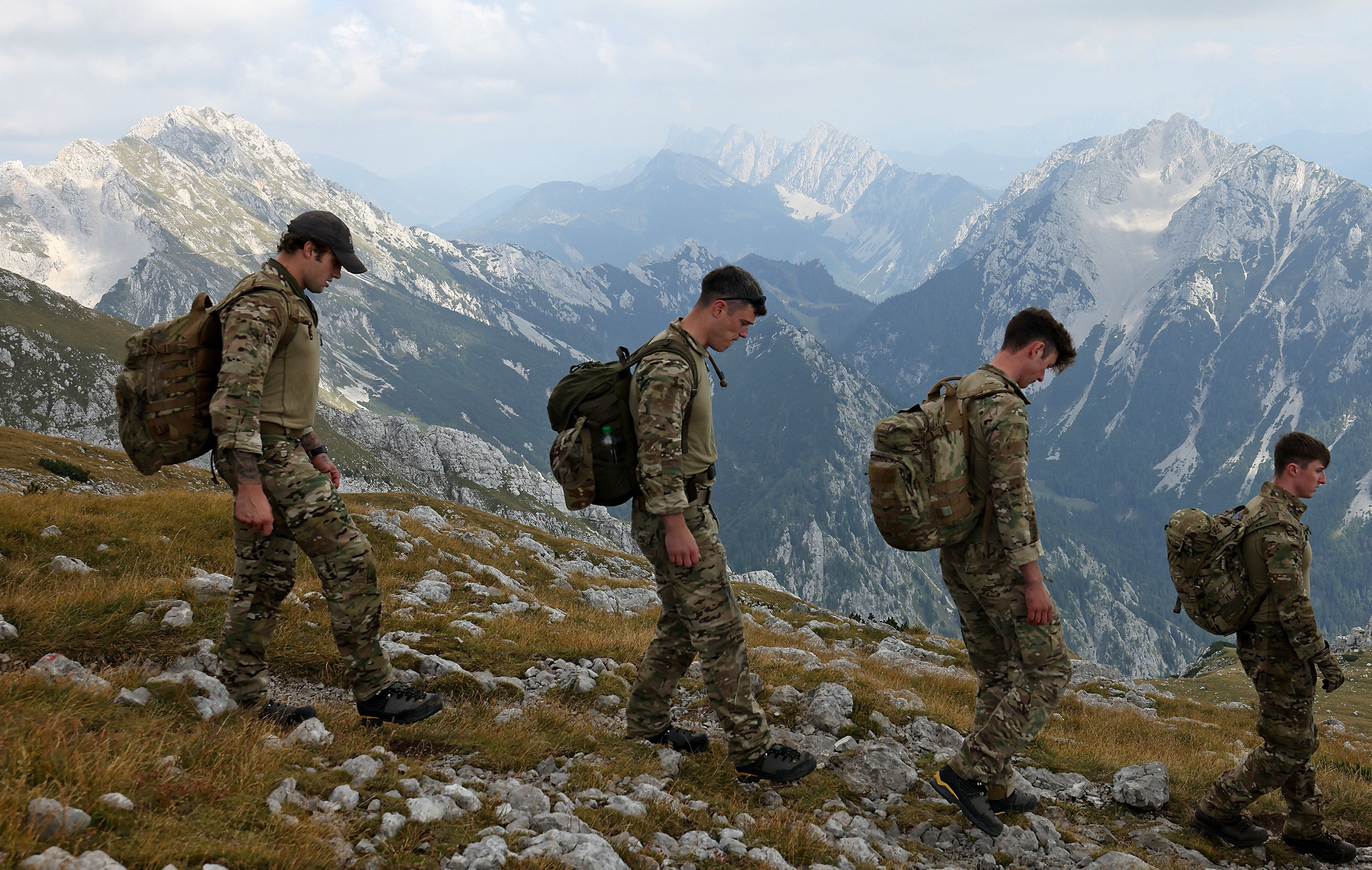 Preparing for the Arctic in the Slovenian mountain