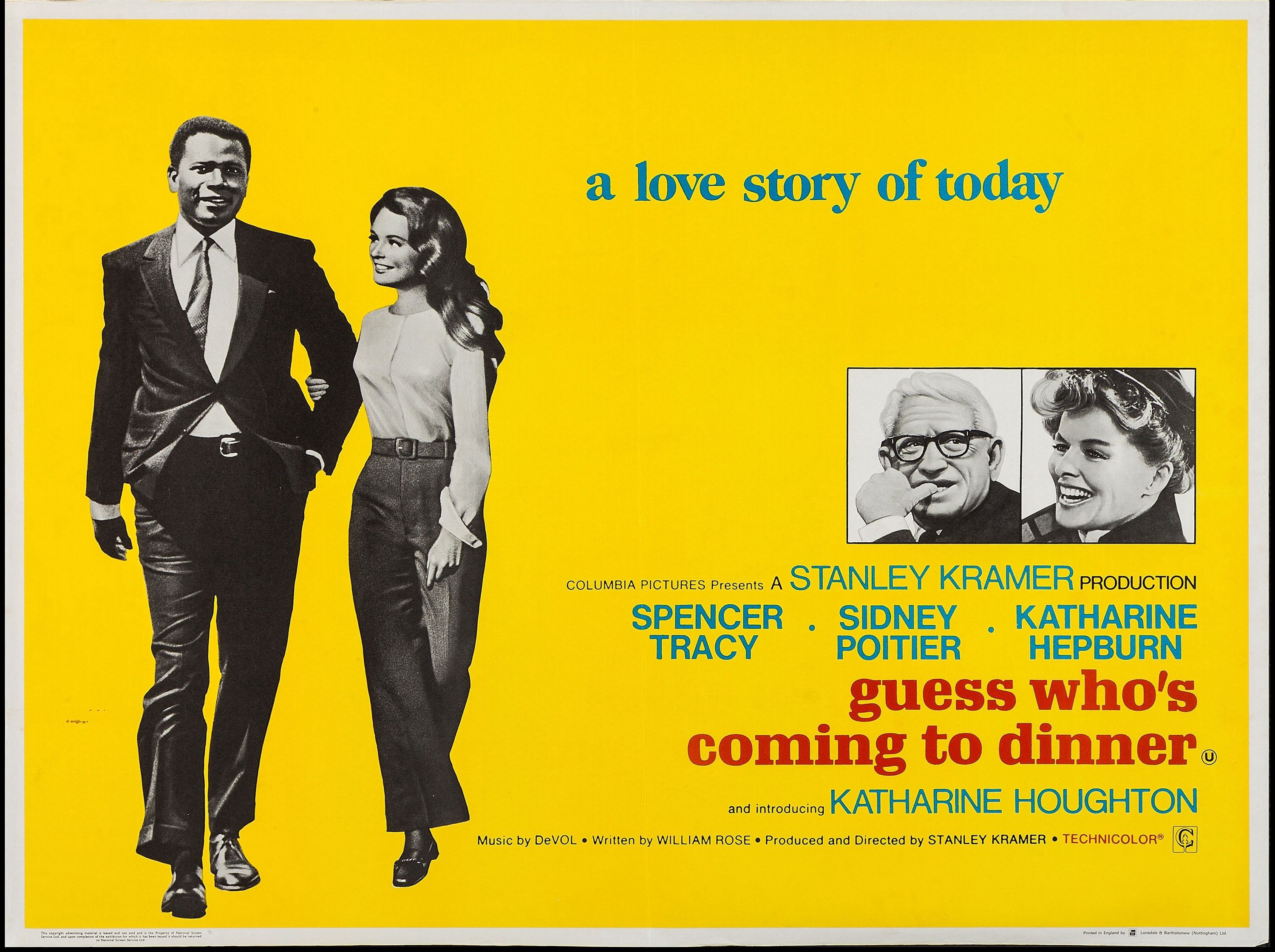 Extra Credit — 1998 AFI | 99: Guess Who's Coming to Dinner (1967 ...