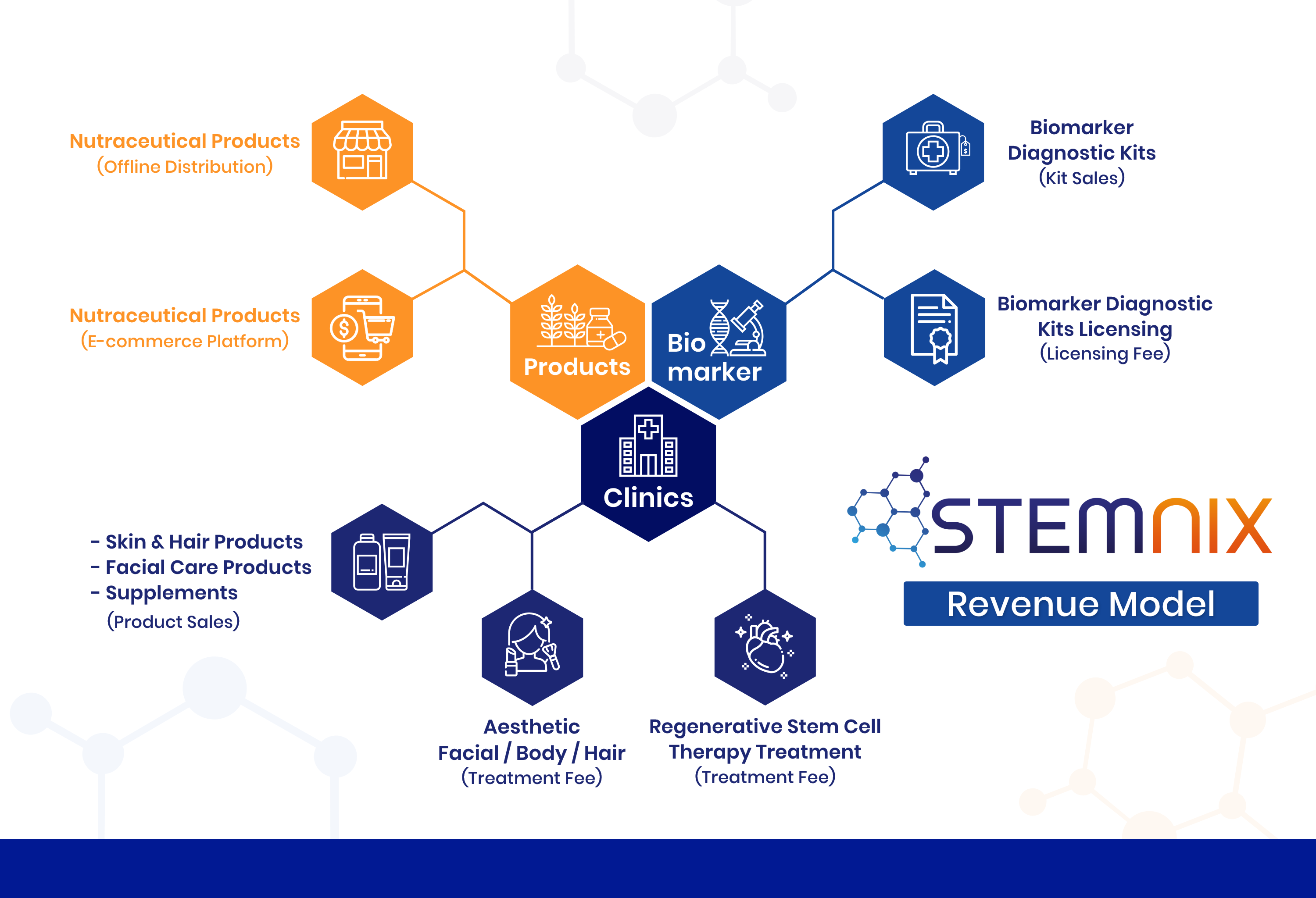 Good Health and Good Wealth with Stemnix Revenue Model