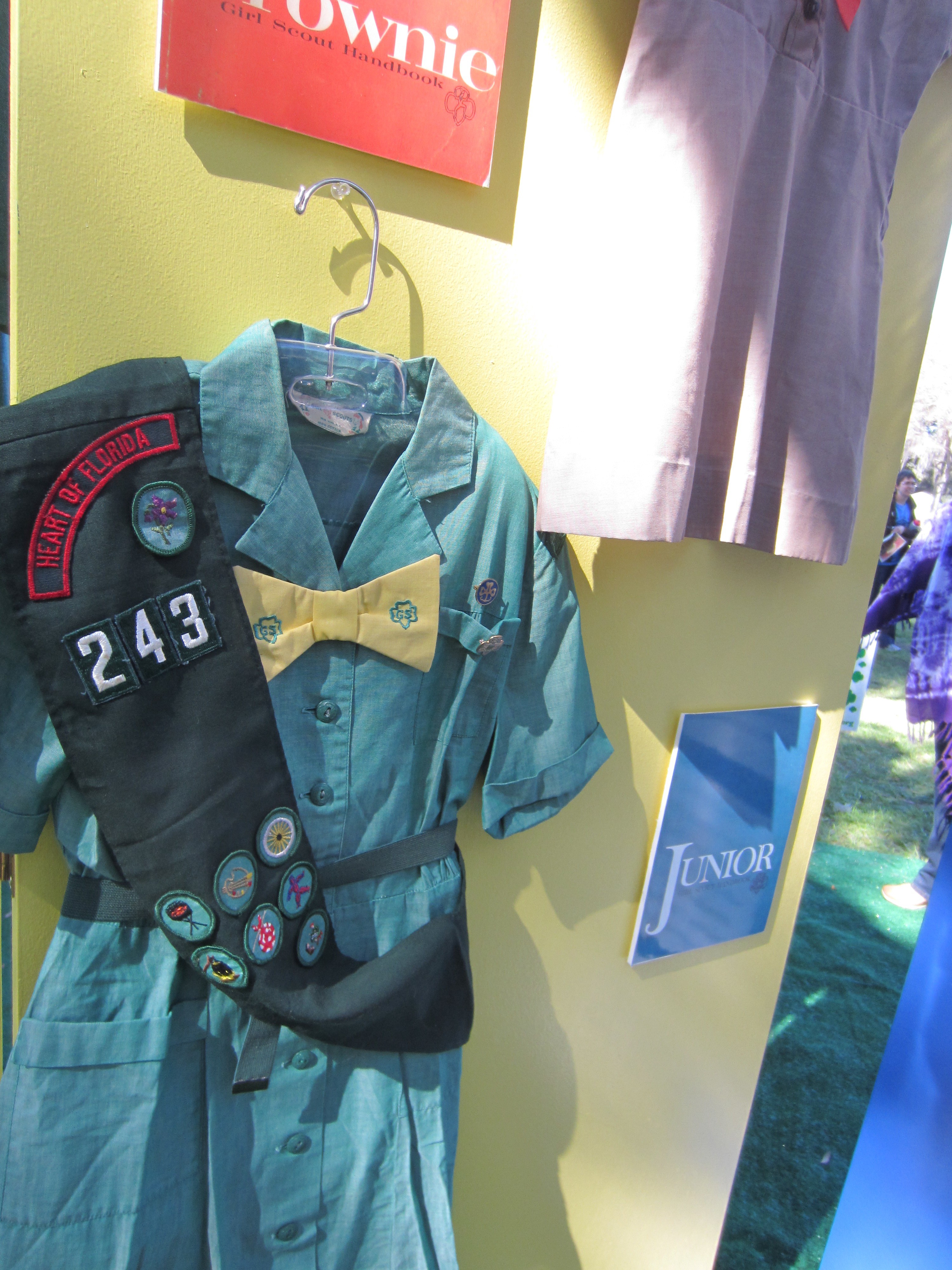 old girl scout uniform