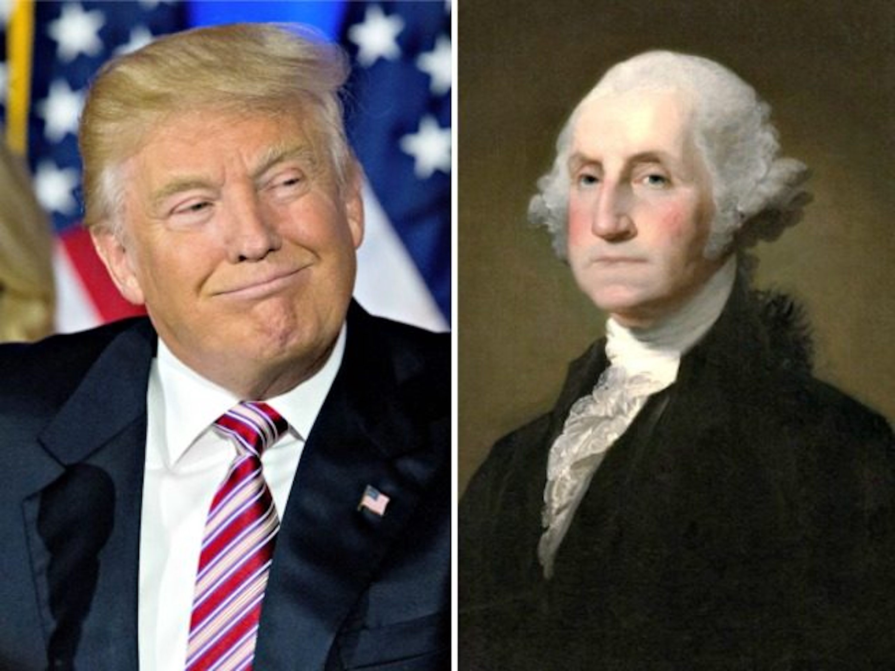 The Link Between Donald Trump and George Washington