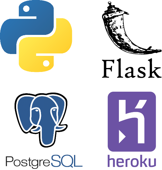 Create a web application with python + Flask + PostgreSQL and deploy