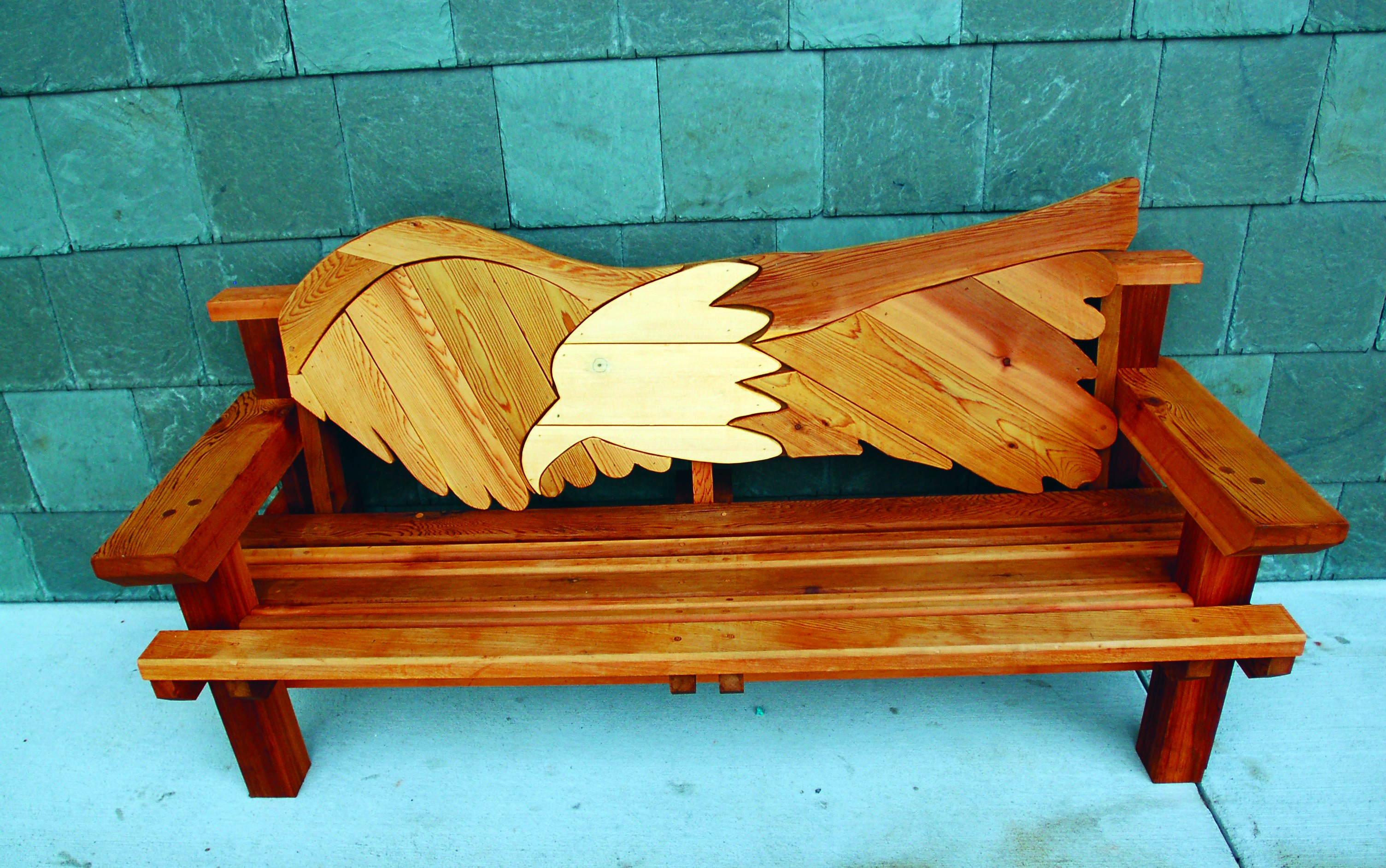 Woman Donates Bench To Public Library By Alaina Rochelle Medium