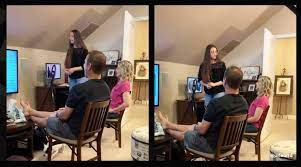 A WOMAN has gone viral after she created a PowerPoint presentation to tell her parents that she was working as a stripper.