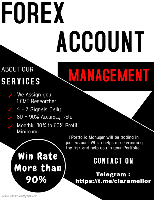 Best forex account manager