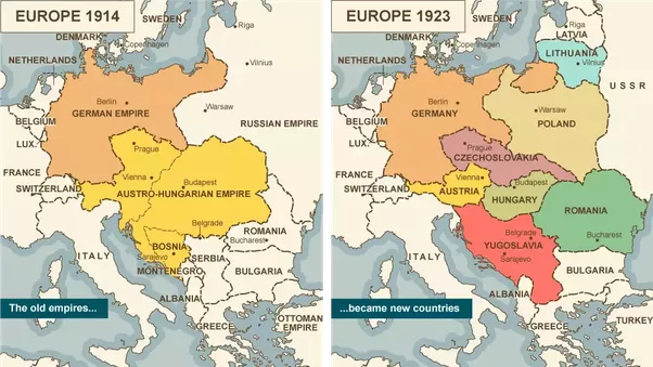 Map Of Germany Late 1800s.Interesting Facts About Wwi Ken Ryu Medium