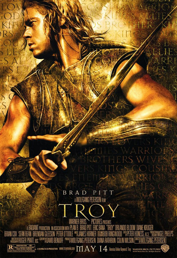 Troy, the Movie, and the Mystery of the Missing Gods