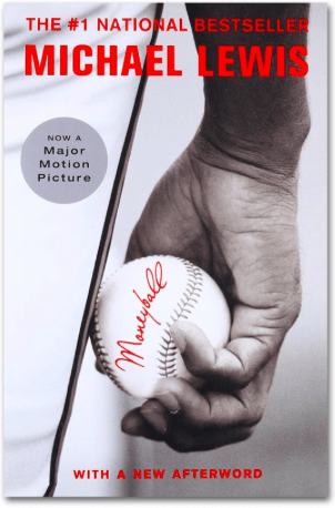 Book cover — Michael Lewis' MoneyBall