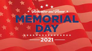 Christopher Ridgeway Stone Clinical Labs and Memorial Day