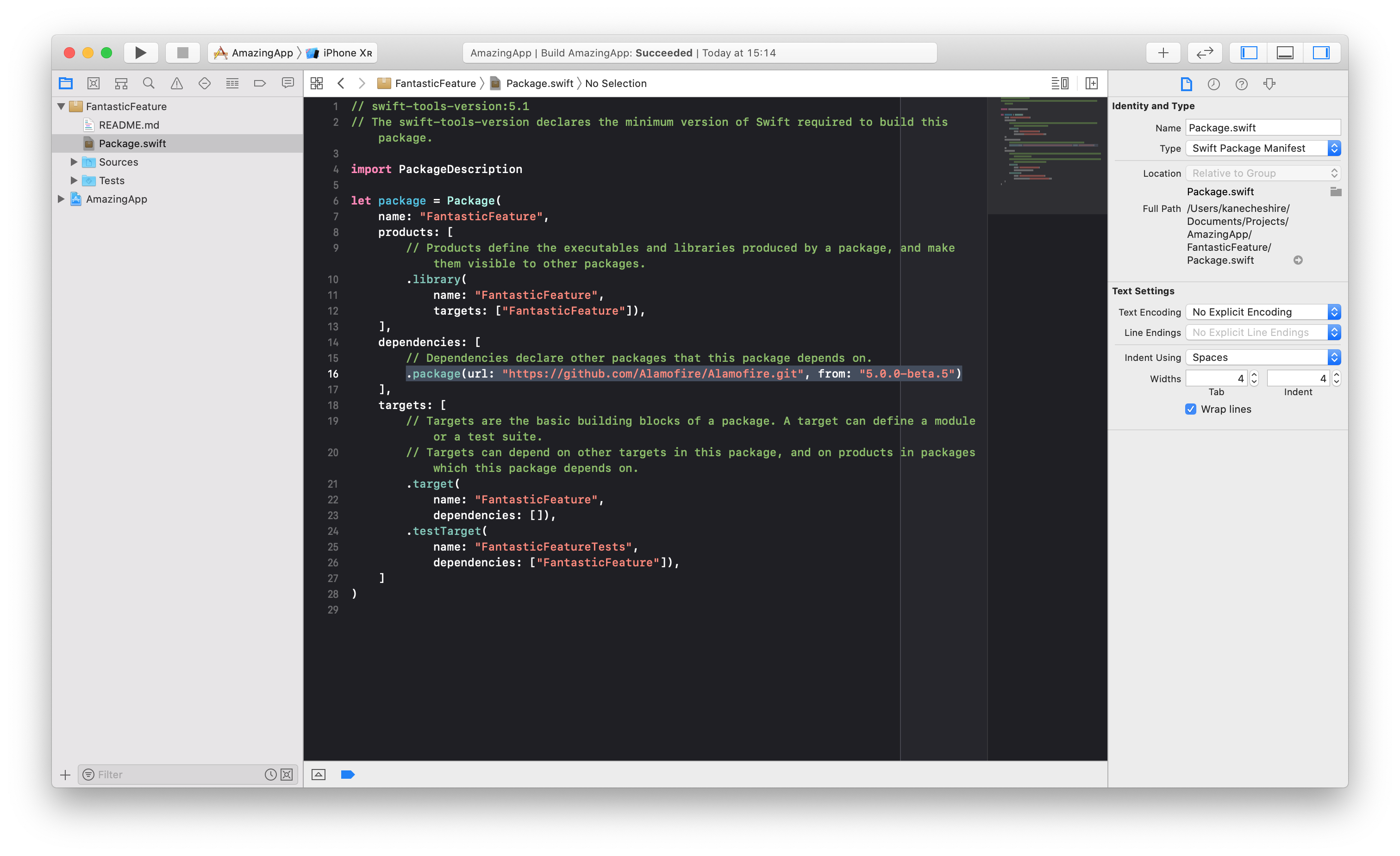 Modern modular apps with Xcode 11 and Swift Package Manager