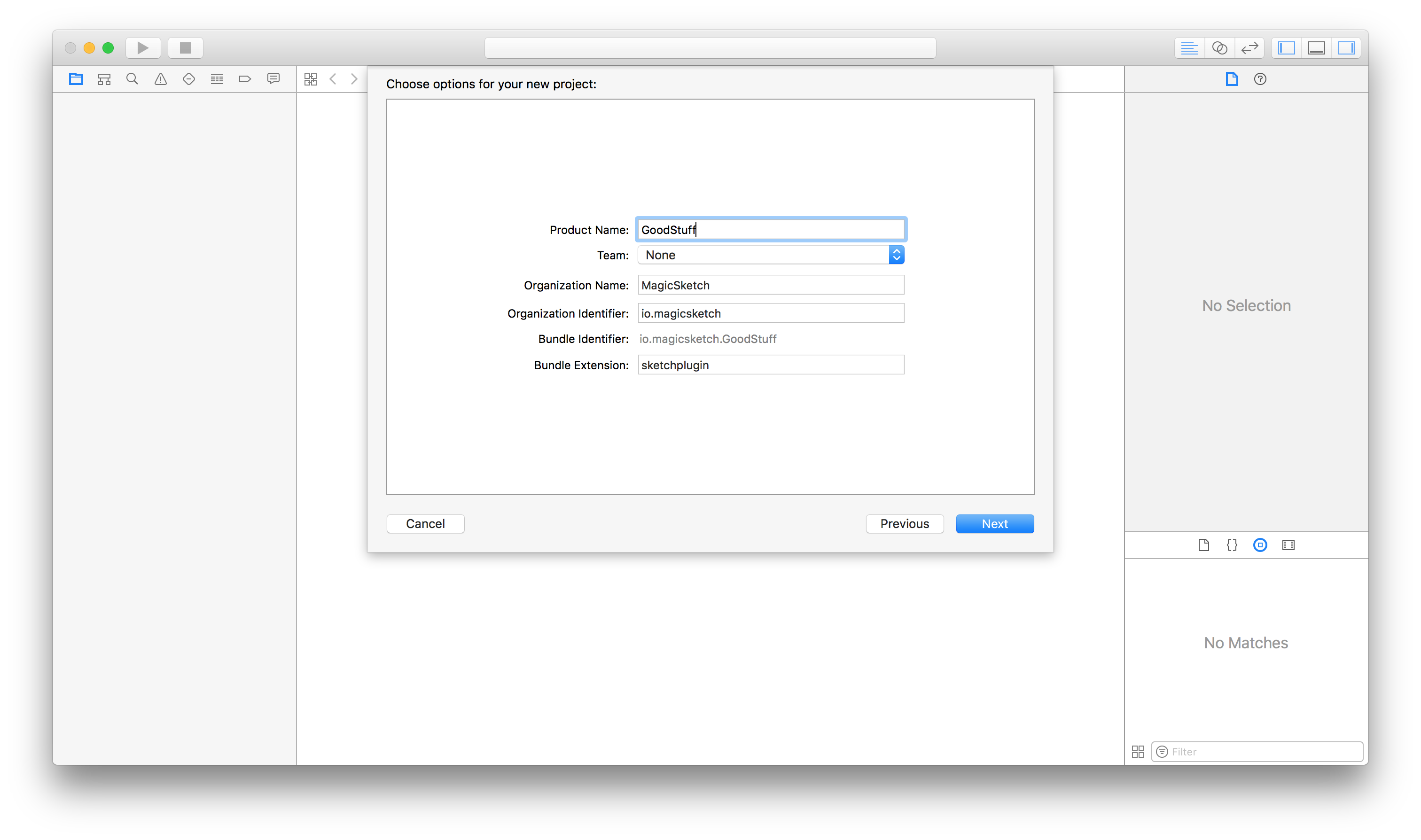 Sketch Plugin Xcode Template How You Can Build Native Inspector By James Tang Magicsketch Blog