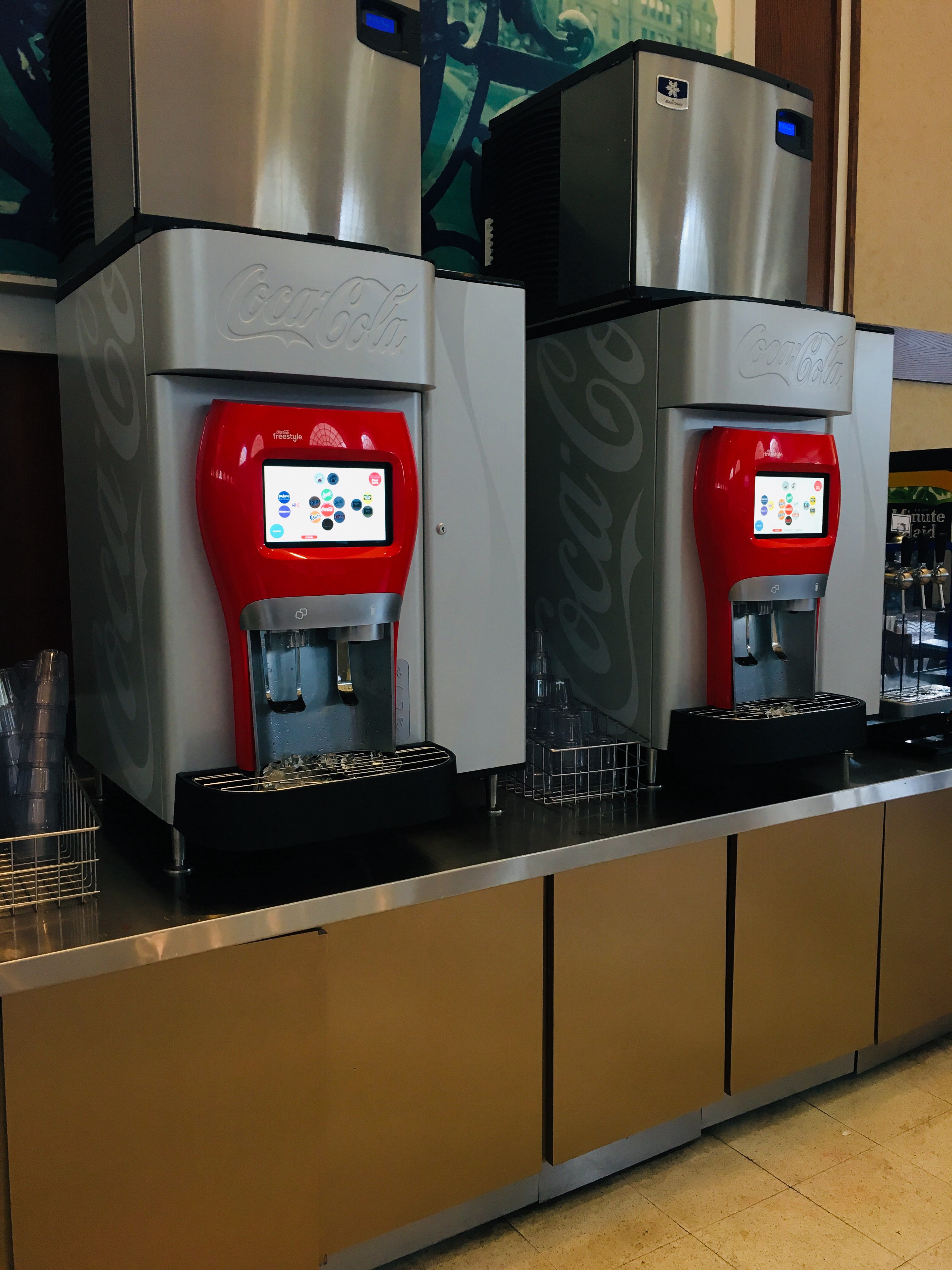 On the User Interface of the Coca-Cola Freestyle - Stella ...