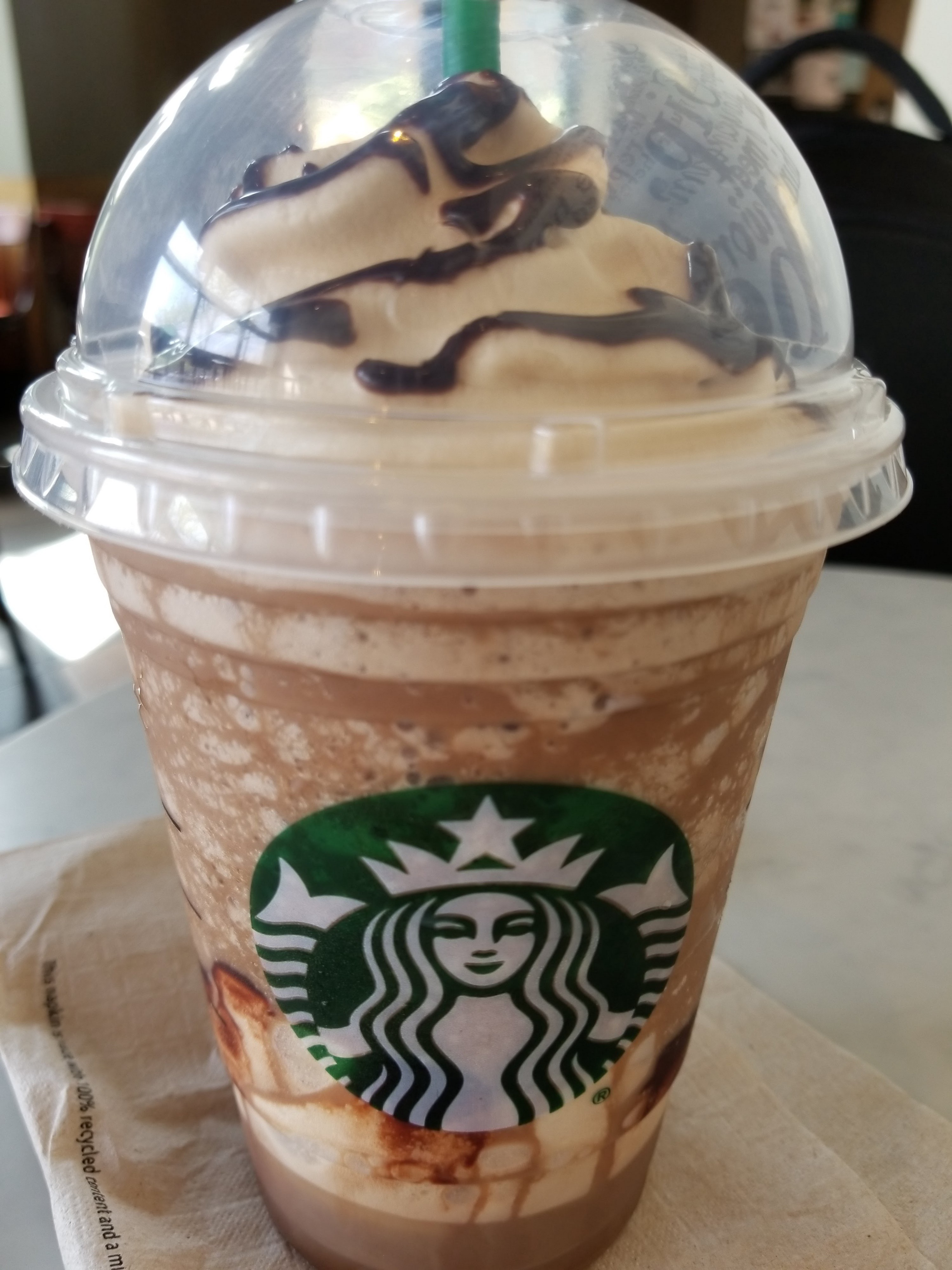 Starbucks Triple Mocha Frappuccino And Ultra Caramel