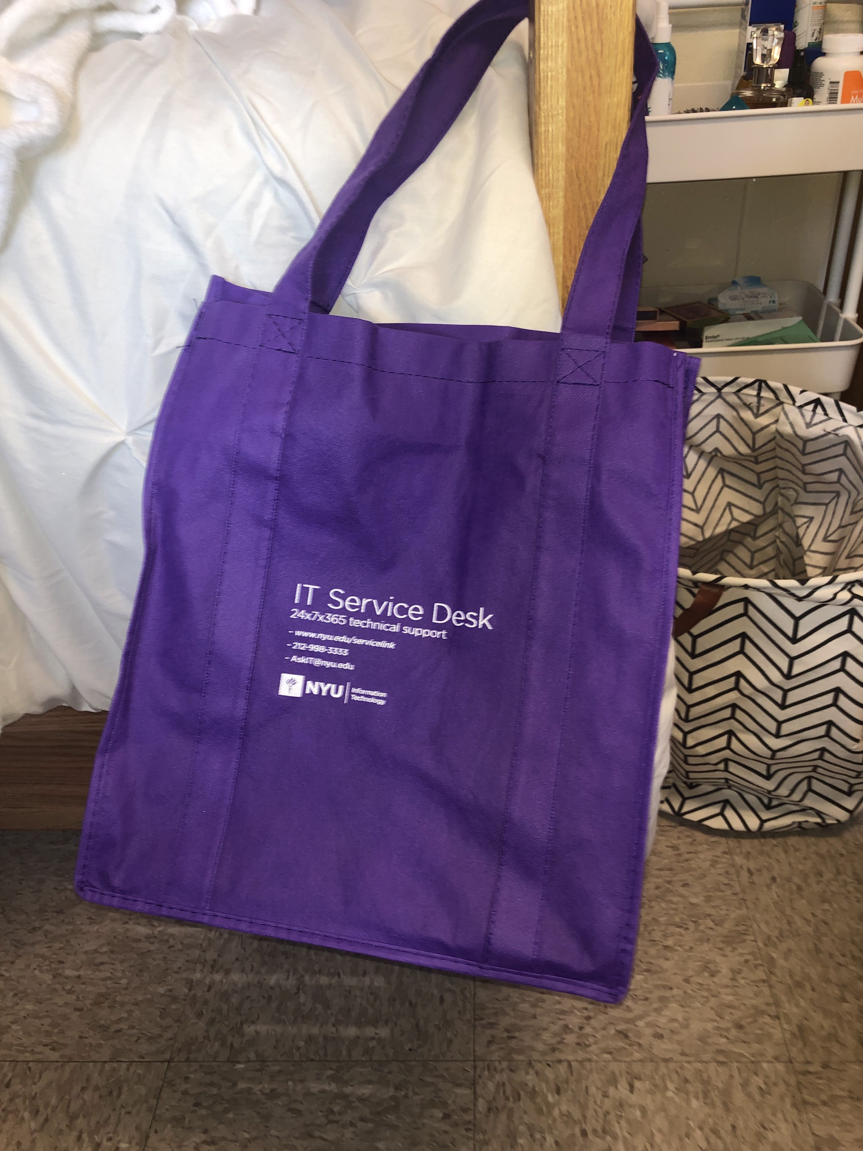 All the Tote Bags I Got for Free During Welcome Week, Ranked