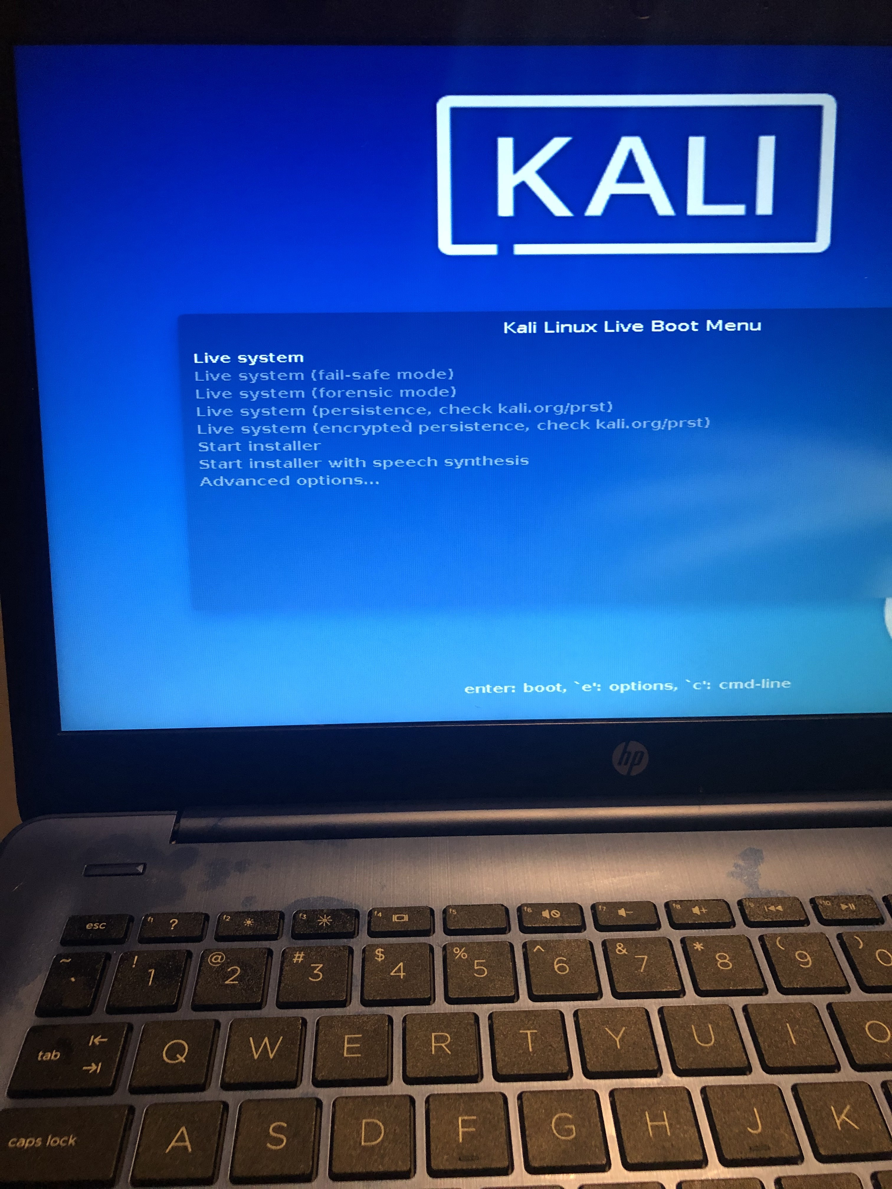 How To Install Kali Linux On Hp Stream By Jayhill Medium