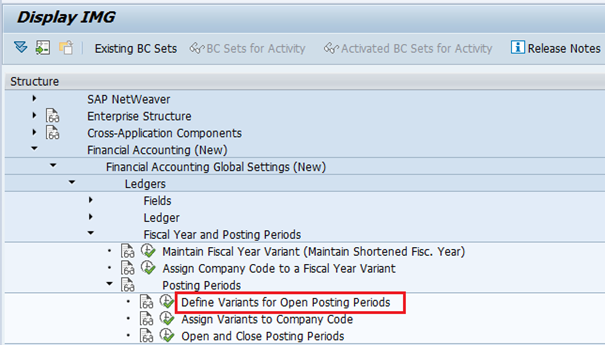 SAP FI — Define Posting Period Variant | OBBO - Feyza