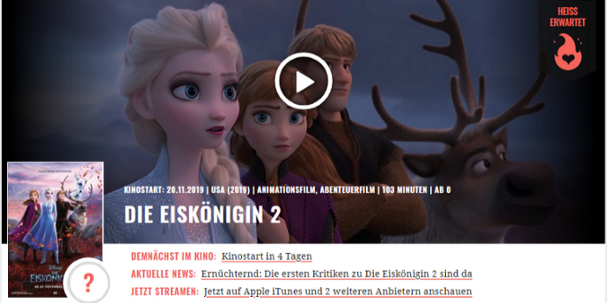 Frozen Deutsch Online