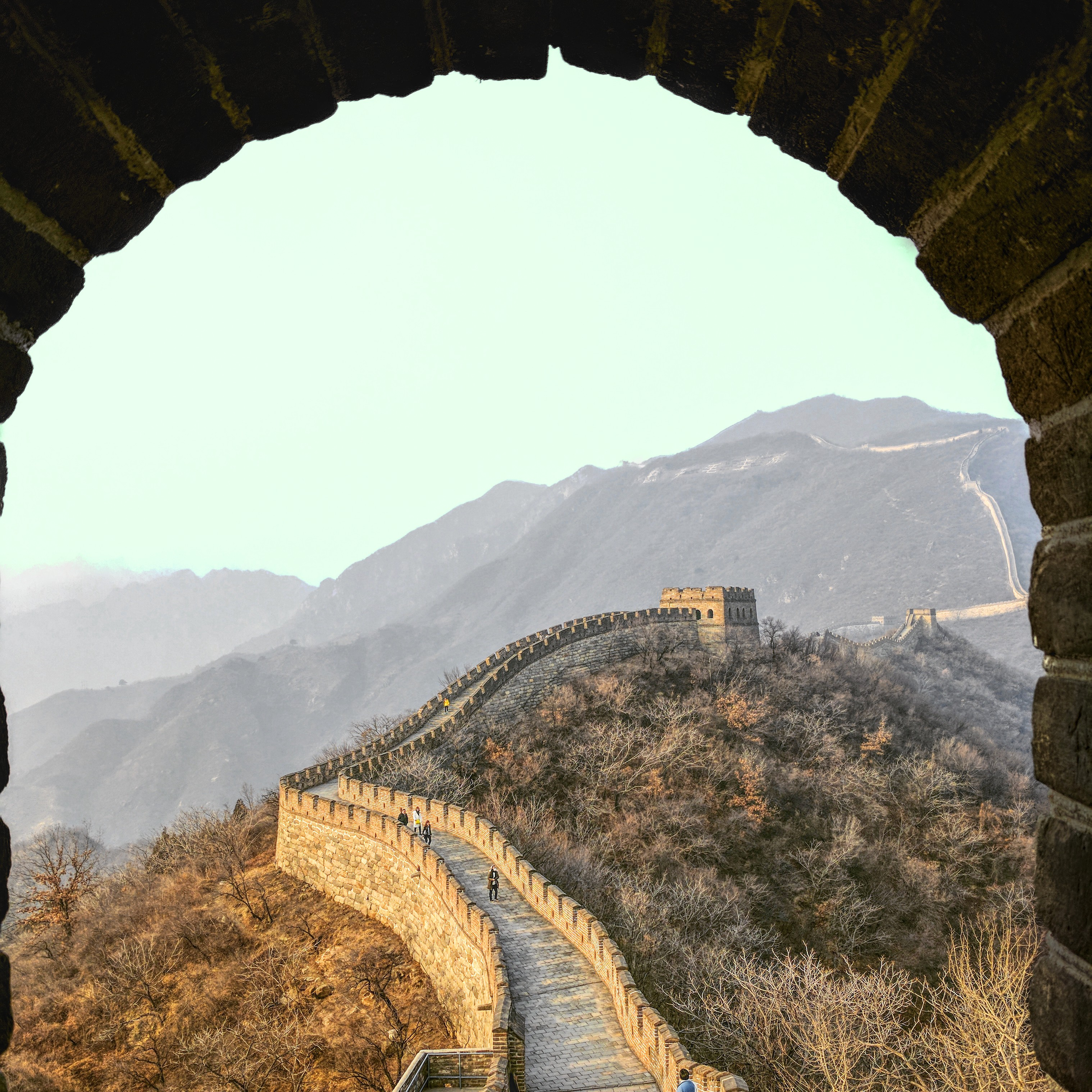 A view on the Great Chinese Wall