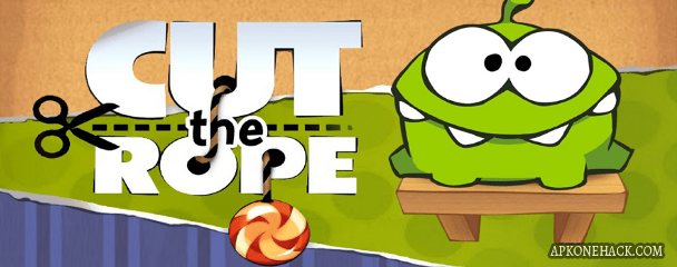 cut the rope free mod apk