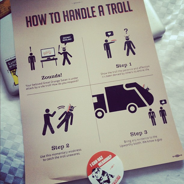 How to Handle a Troll  Our limited edition posters for