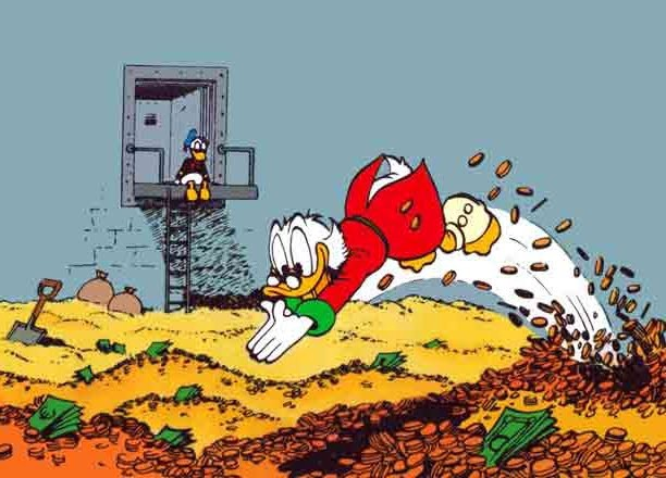 Swimming in My Money Like Scrooge McDuck | by Meg Furey | The ...