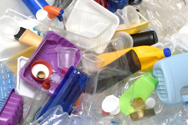 Recycable plastic waste