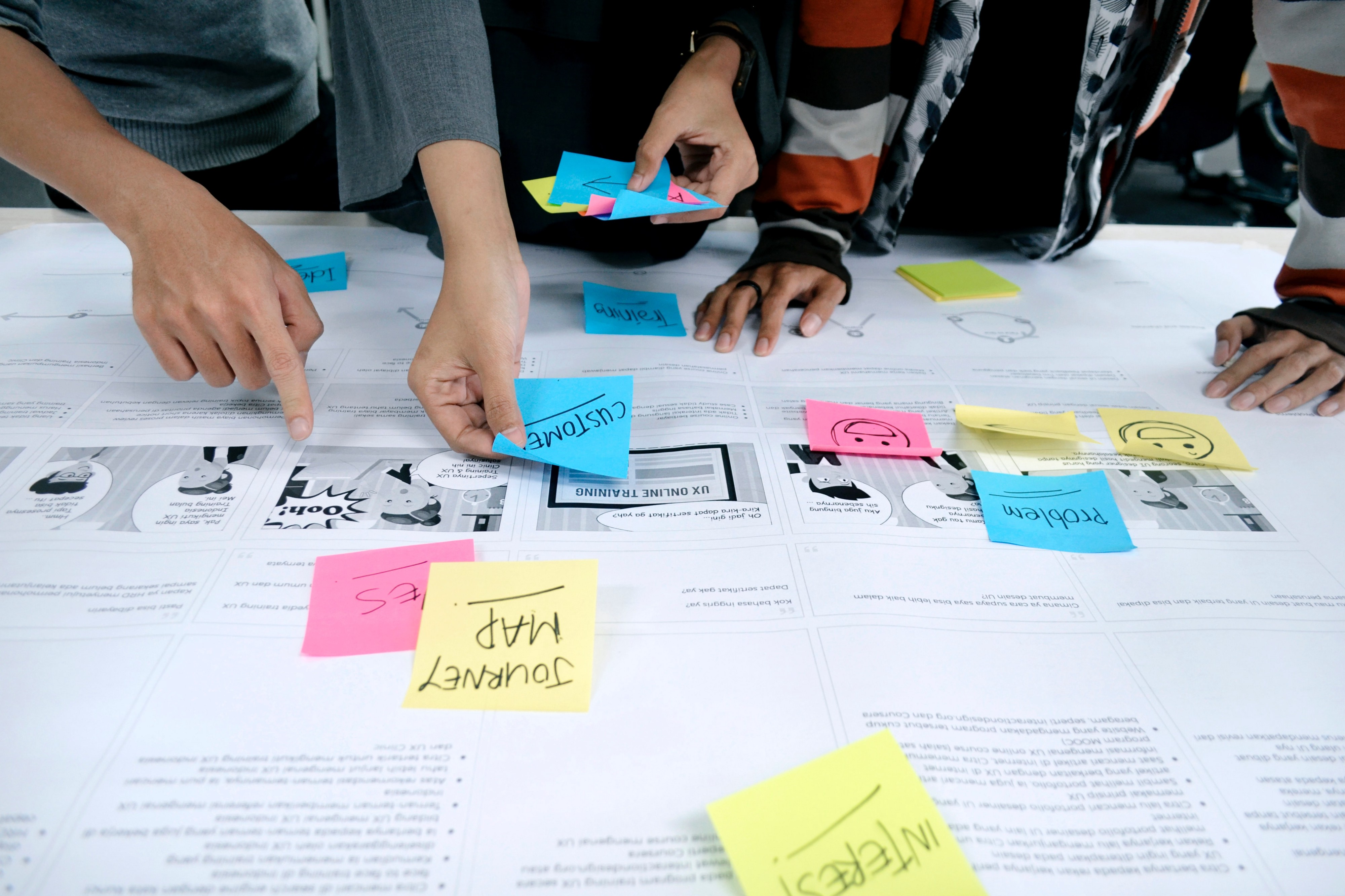 User Journey Map is also known as Customer Journey Map is a a visualization of the process