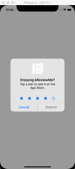 SKStoreReviewController — Apple way to request review and rating