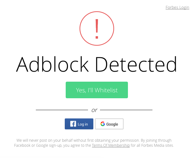 Detect Adblock: technical and UX considerations - Timur