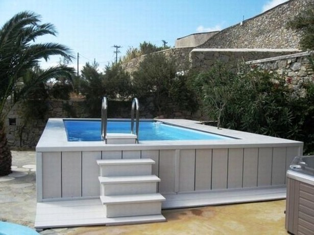 15 Above Ground Pool Deck Ideas On A