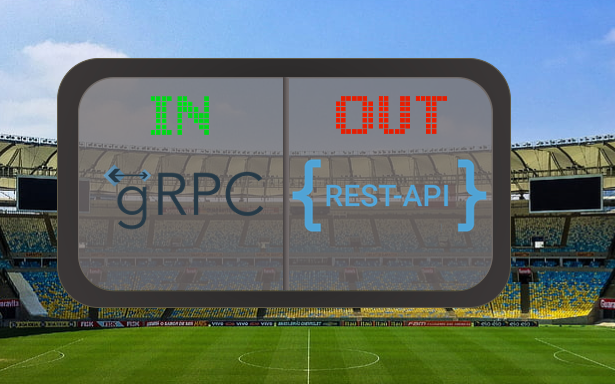 Replacing REST with gRPC
