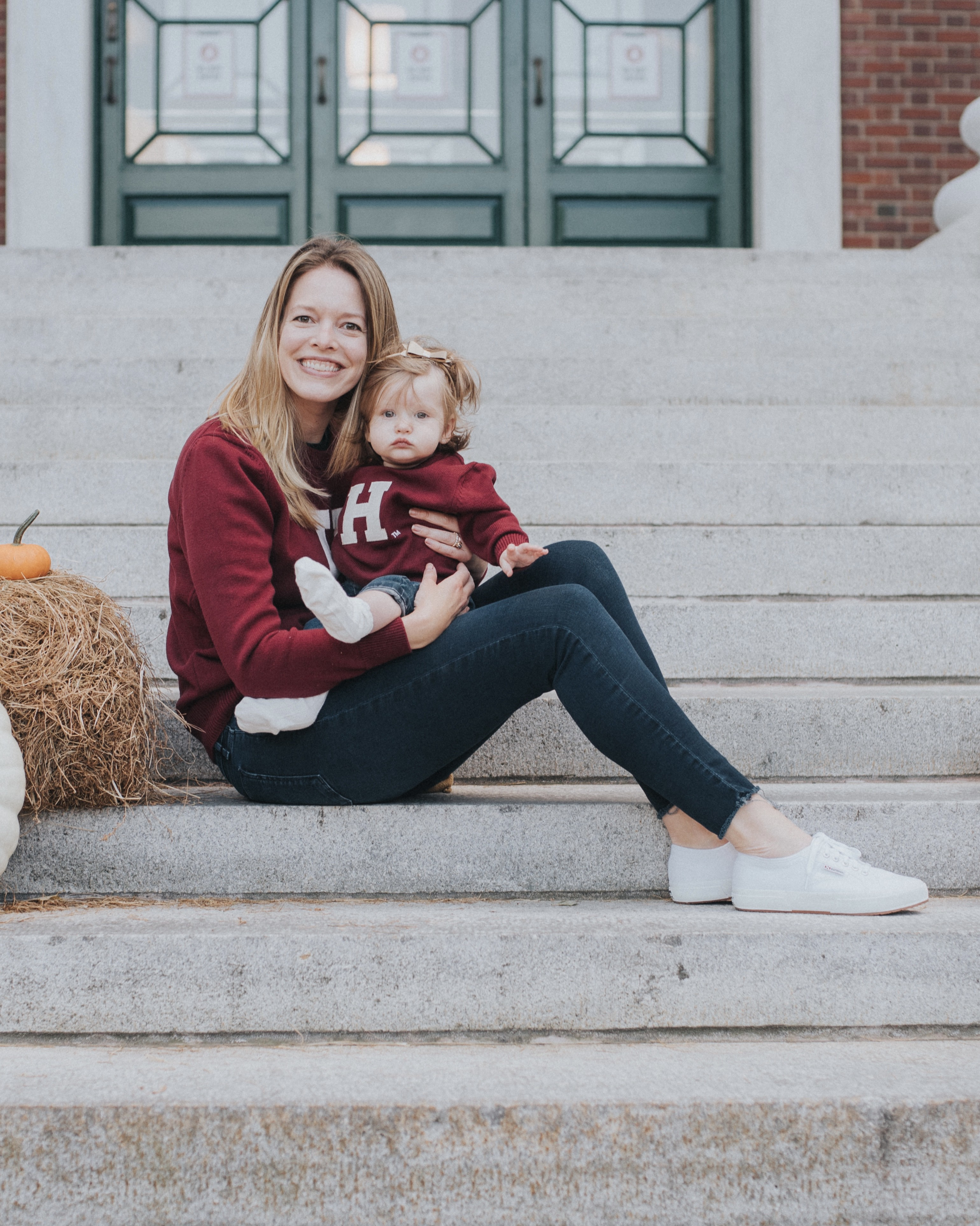 Sally Sorte and her daughter, Olivia.