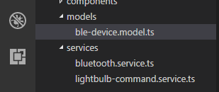 Creating a Mobile App for a Smart Light Bulb with
