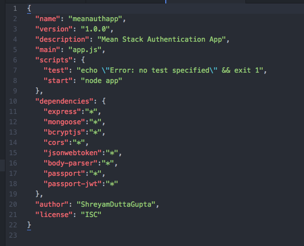 API Authentication using Passport JS and JSON Web Tokens