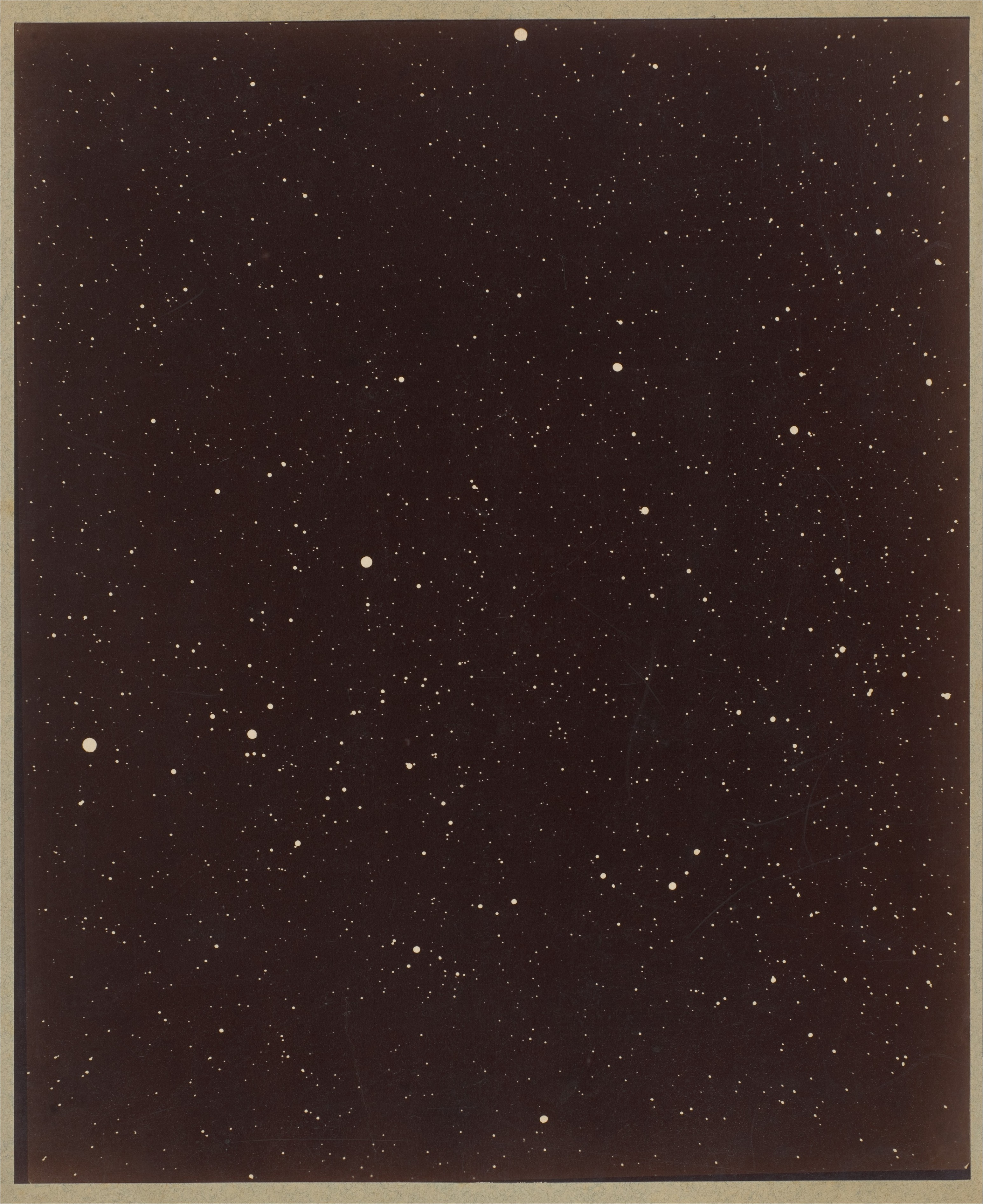 A Section of the Constellation Cygnus (August 13, 1885)