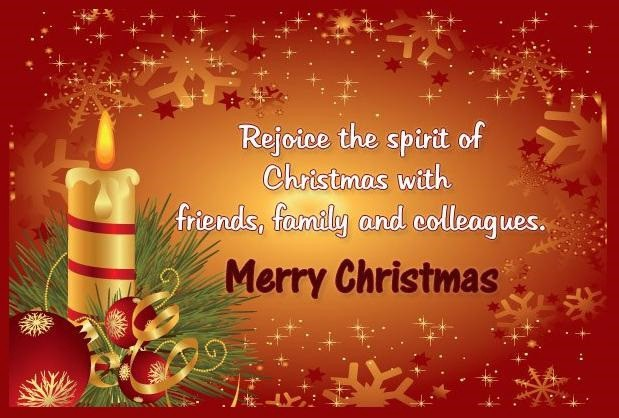 Merry Christmas Friends And Family.Inspirational Wishes On Merry Christmas 2015 Soniya