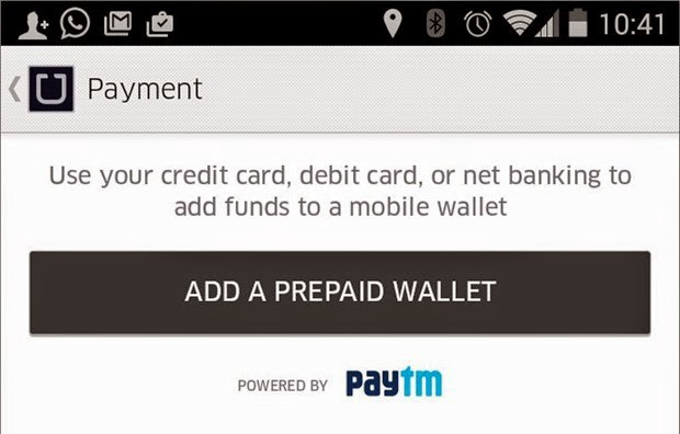 Issues and solutions with PayTM wallet on Uber App