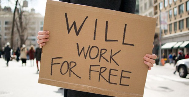 Will work for free