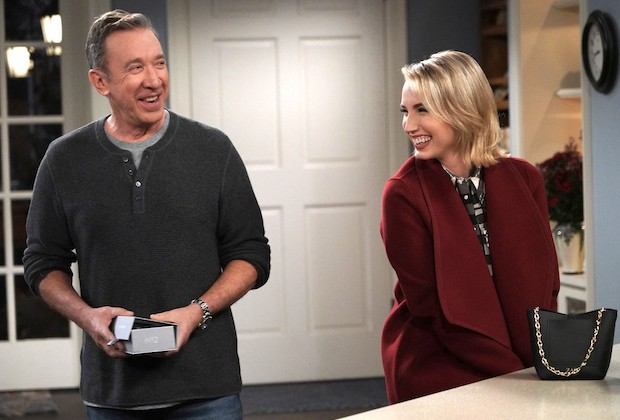 is kristin on last man standing pregnant