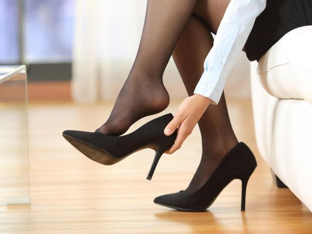 High Heels in the workplace