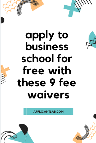 I Applied to Top MBA Programs for Free and You Can Too