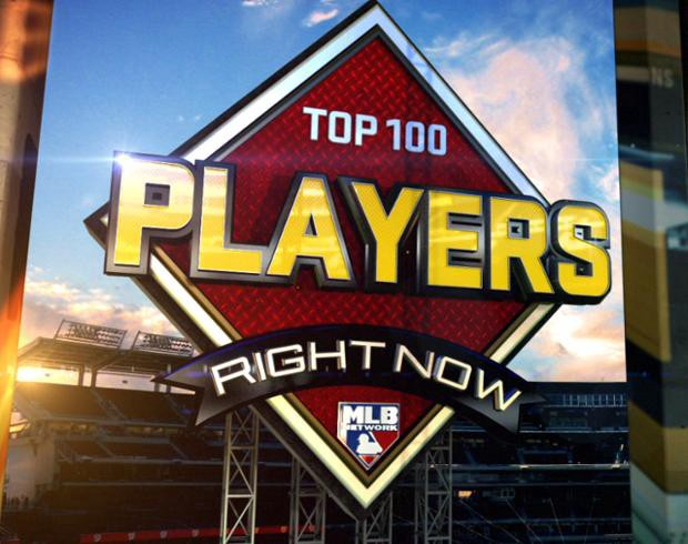 MLB Network's Top 100 Players Right Now Entering 2019